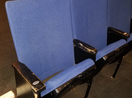 Rockefeller University, New York City Auditorium Seating Reupholstery