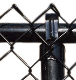 electrostatic painted fence
